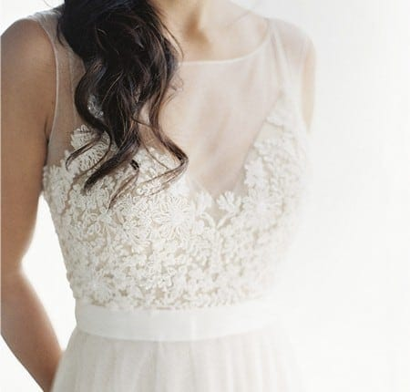 Wedding Dress Inspiration - Illusions Neckline