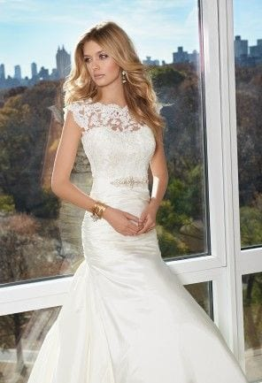 Wedding Dress Inspiration Illusions Neckline