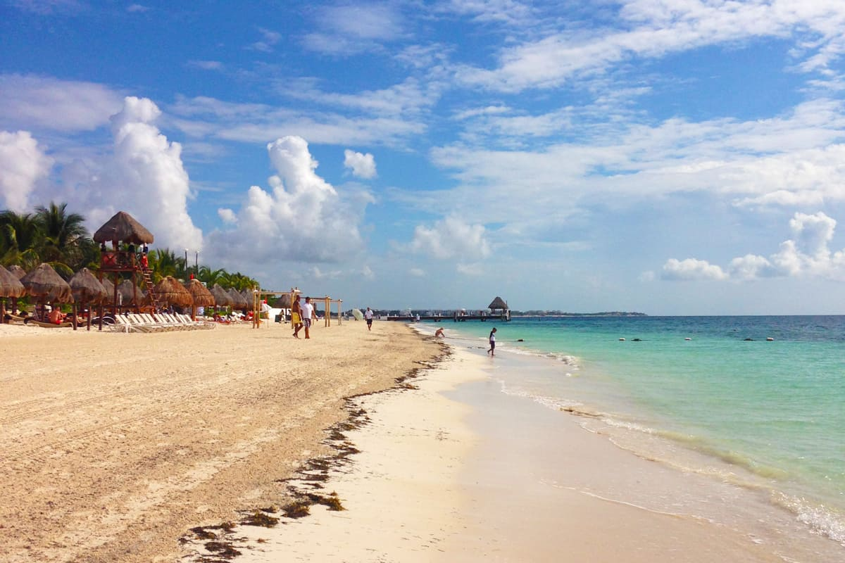 Mexico Photo Diary: White Sands and Blue waters