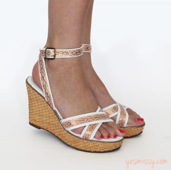 DIY Fashion: Summer Sandals Makeover