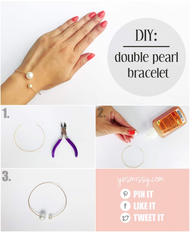 3 fashionable wire jewelry tutorials inspired by Chanel