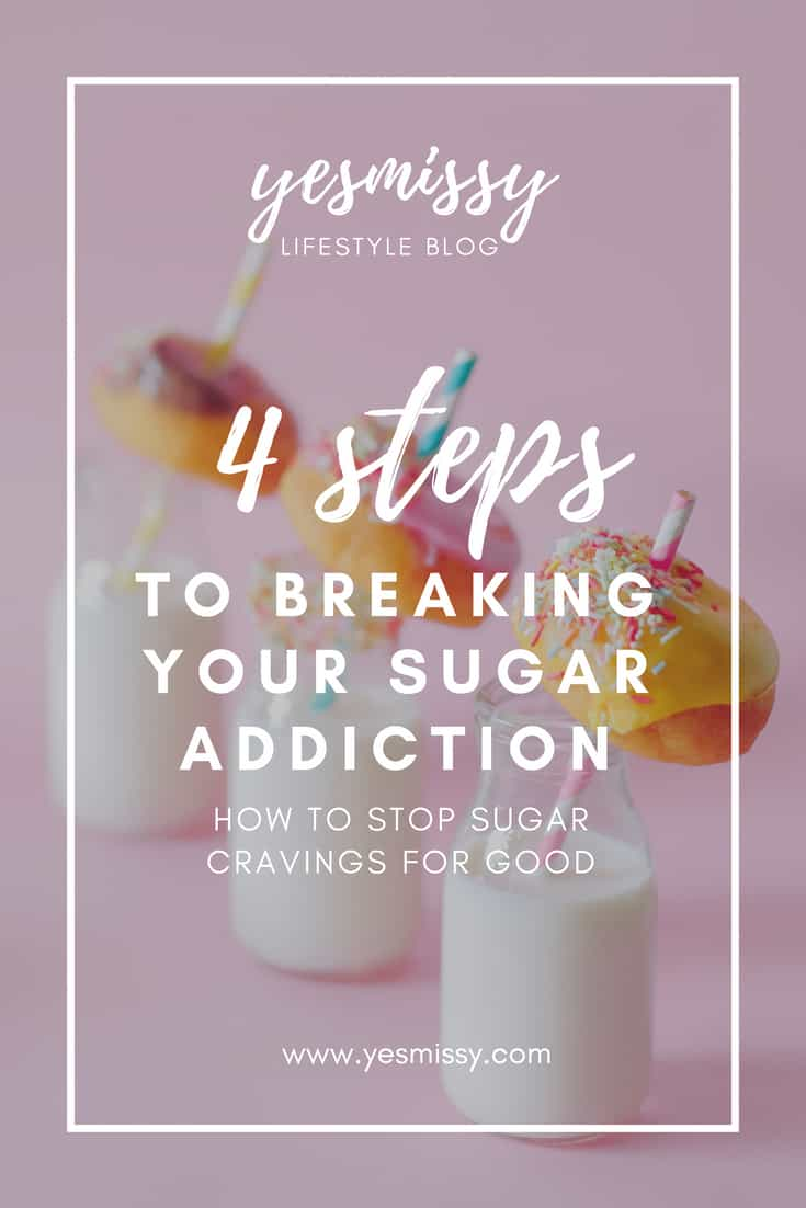 Quitting sugar isn't as hard as you might think. How to stop sugar cravings and and cut down on eating sugar...