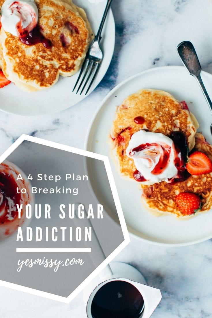 How to quit sugar - 4 steps to eating healthy
