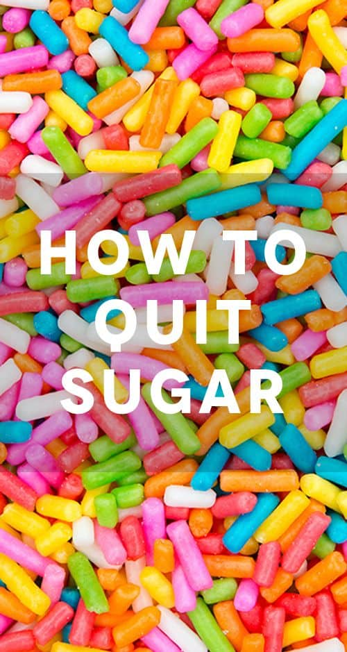 How to stop sugar cravings and Cut down on eating sugar in 4 easy steps