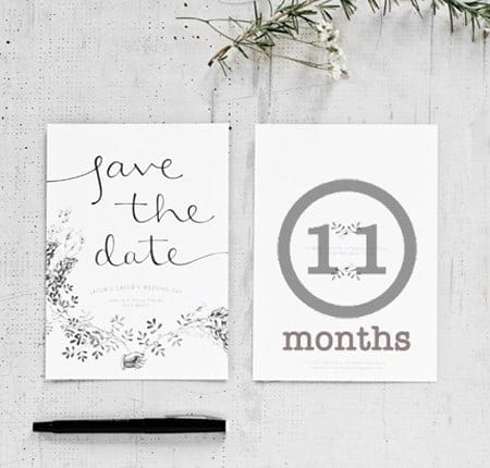 Wedding Countdown: 11 months to go