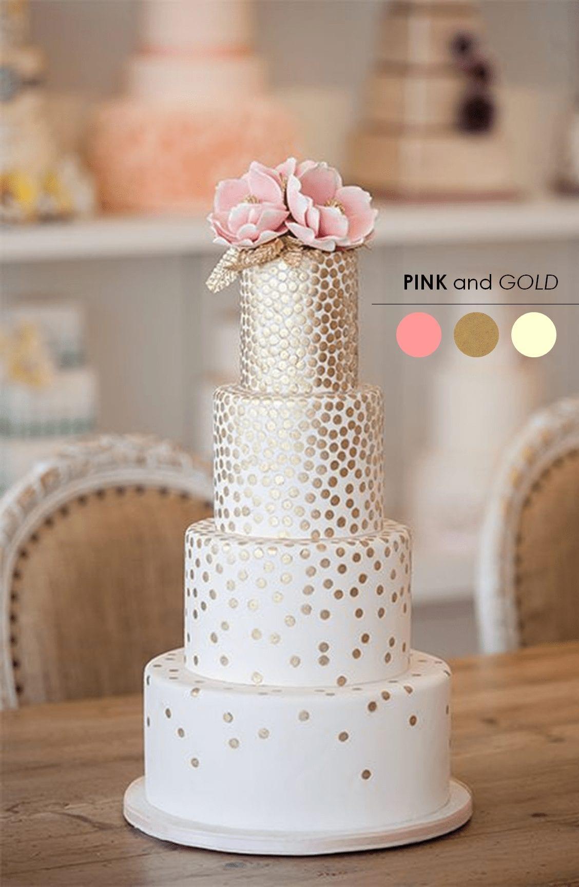 Choosing your wedding colors - palette ideas