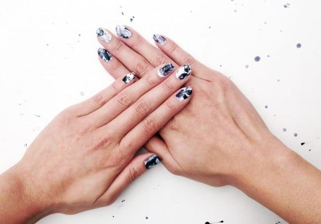 Make your own nail appliques & nail stickers from real nail polish