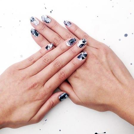 Make your own DIY nail appliques & nail stickers from real nail polish