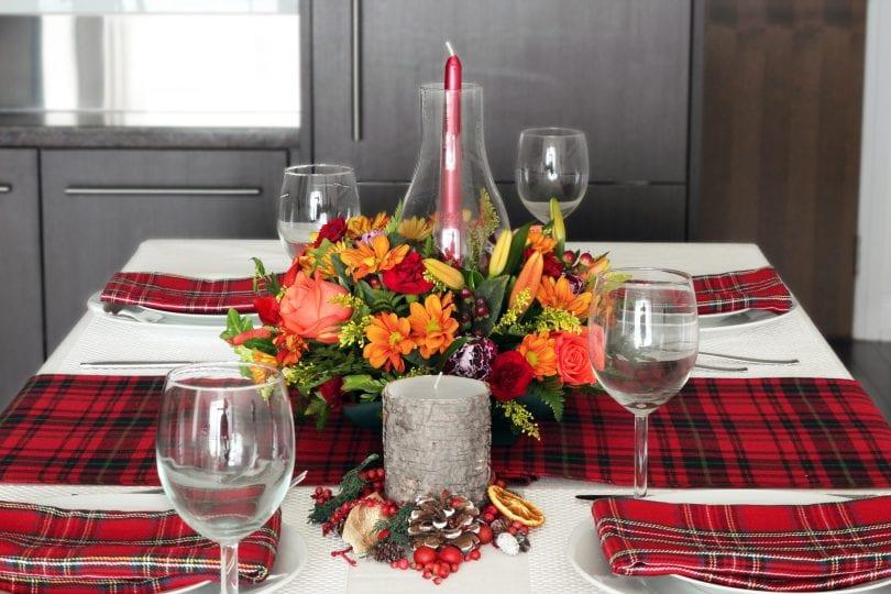 Tartan Thanksgiving Tablescape