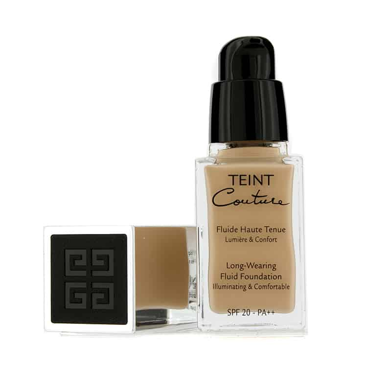 Teint Couture Long-Wearing Fluid Foundation Review - A long-wearing liquid foundation that creates a radiant, flawless complexion with a smooth, satiny finish