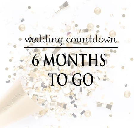Wedding planning - My personal wedding planning journey with 6 months to go!