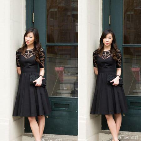 The little black dress by Eshakti - customizable dresses