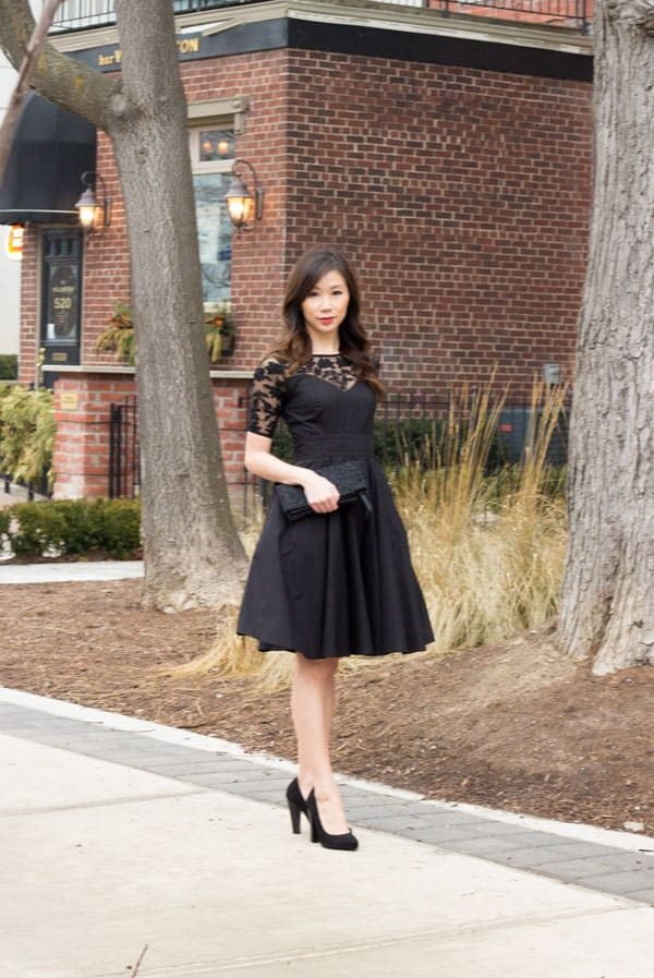 The little black dress by Eshakti - customizable dresses