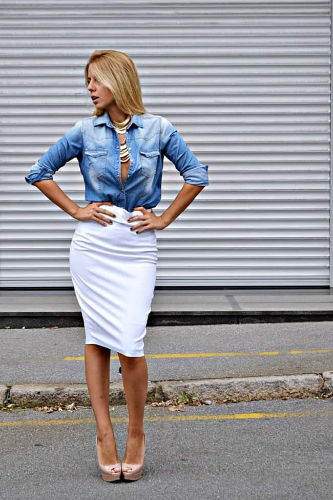 Wearing white after labor day is no fashion faux pas!