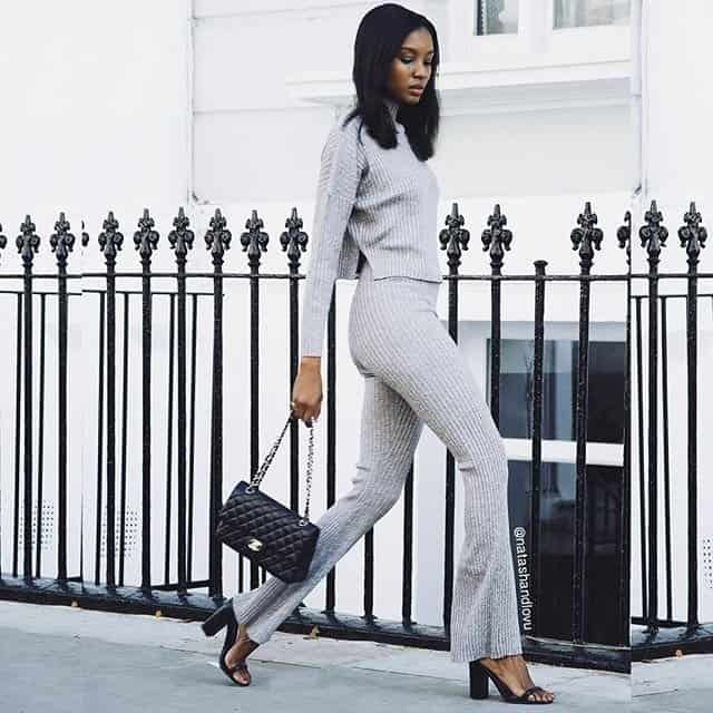 Sweater suit - winter looks