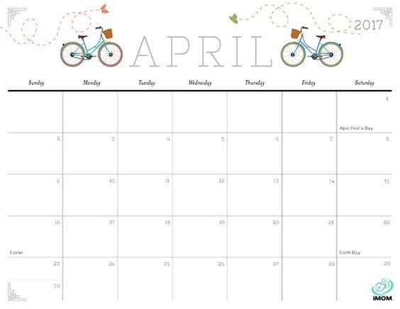 photo regarding Imom Printable Calendar named 25 No cost Printable Calendars