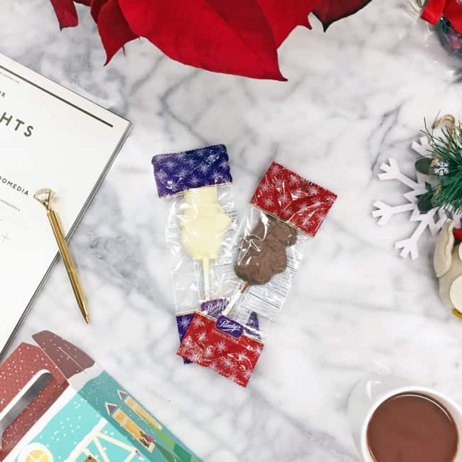 Purdys Chocolatier Chocolate Lollies - perfect stocking stuffers
