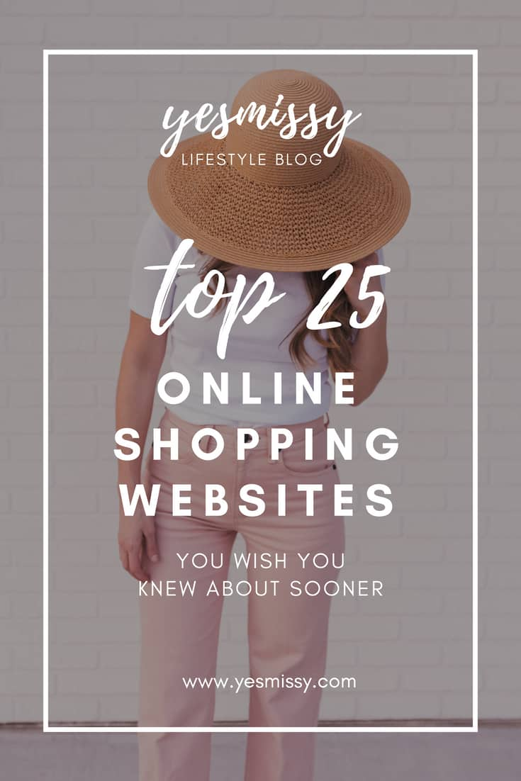 Top 25 Best Online Shopping Sites You Wish You Knew About