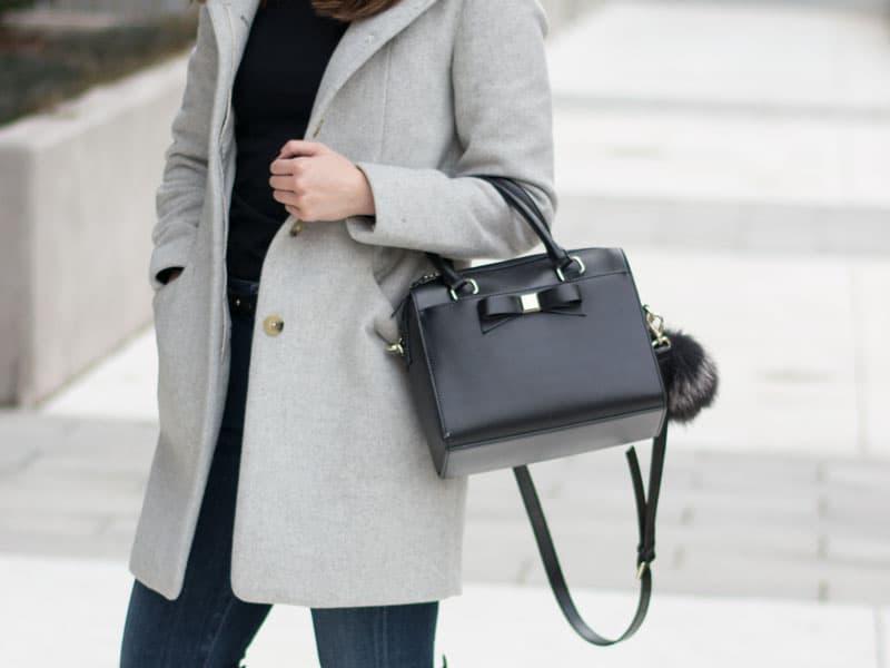Minimalist Blogger Style - Kate Spade Bag
