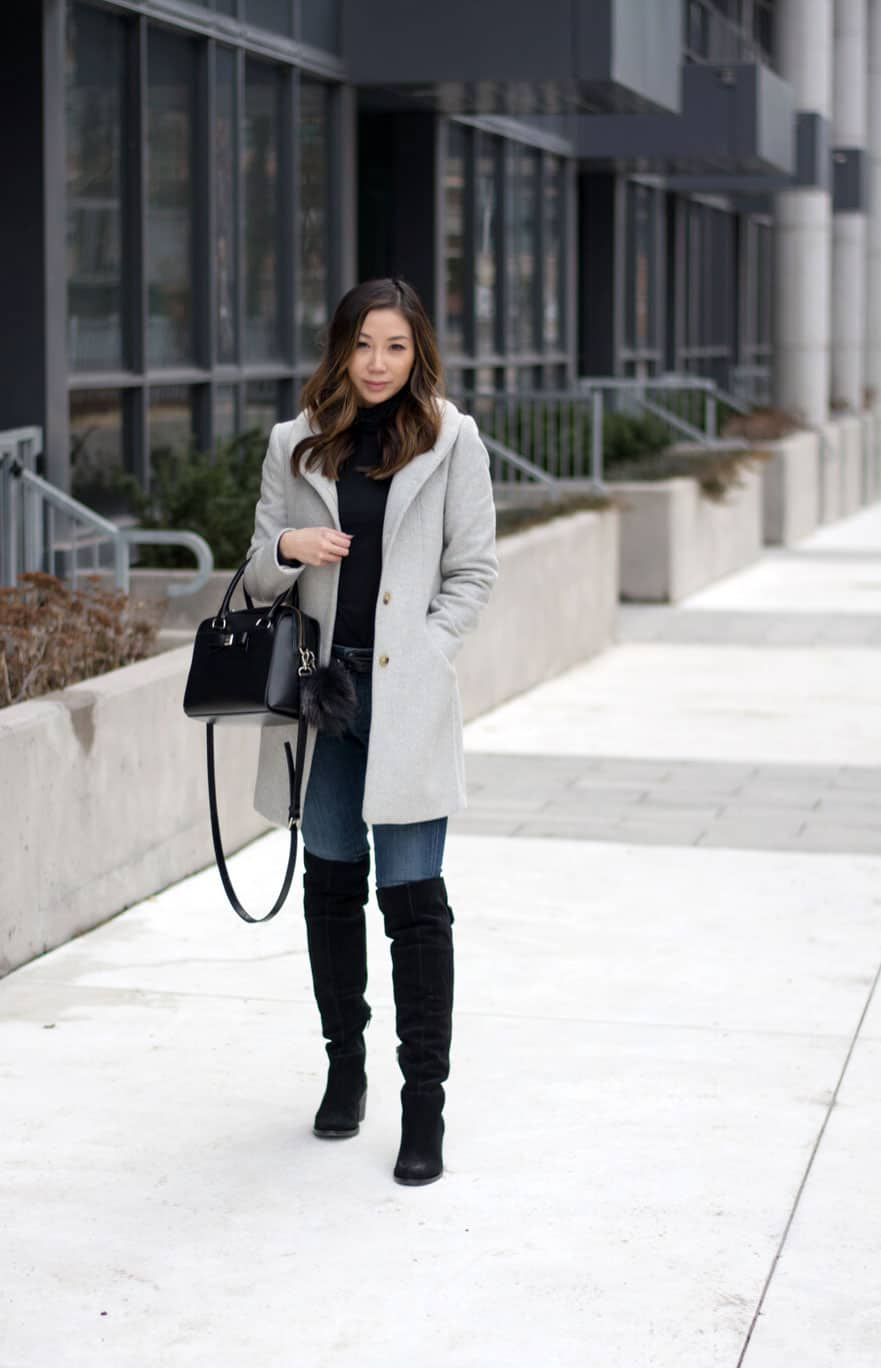 Minimalist street style - fashion blogger