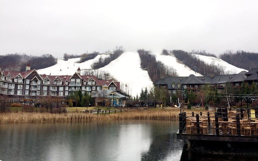 Vacation and R&R time at Blue Mountain Village