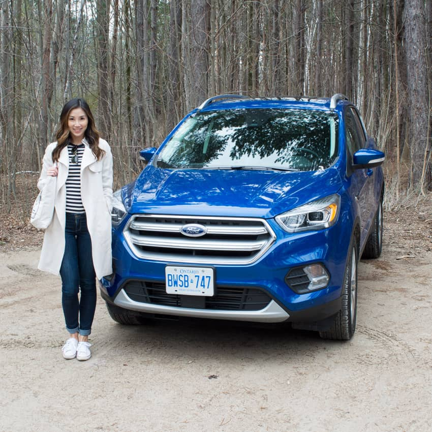Taking the 2017 Ford Escape for a weekend getaway to Blue Mountain
