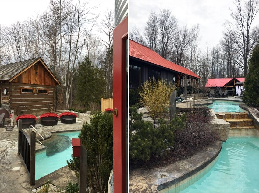 A getaway to Scandinave Spa at Blue Mountain. So beautiful here!