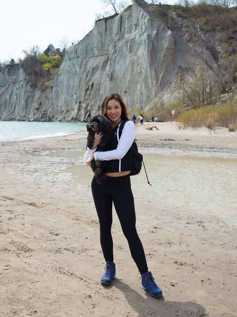 Hiking Scarborough Bluffs with Merrell Footwear