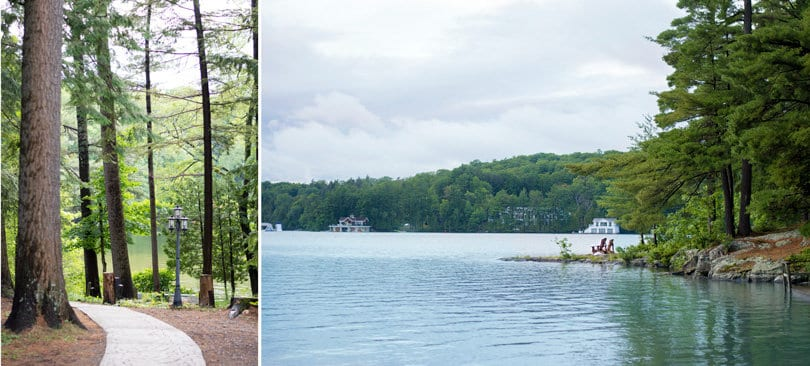 Sherwood Inn Muskoka: the grounds surrounding the hotel