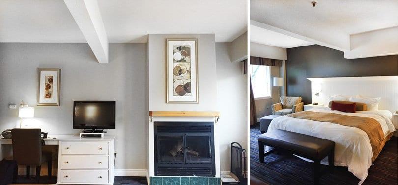 Sherwood Inn: my room for the night