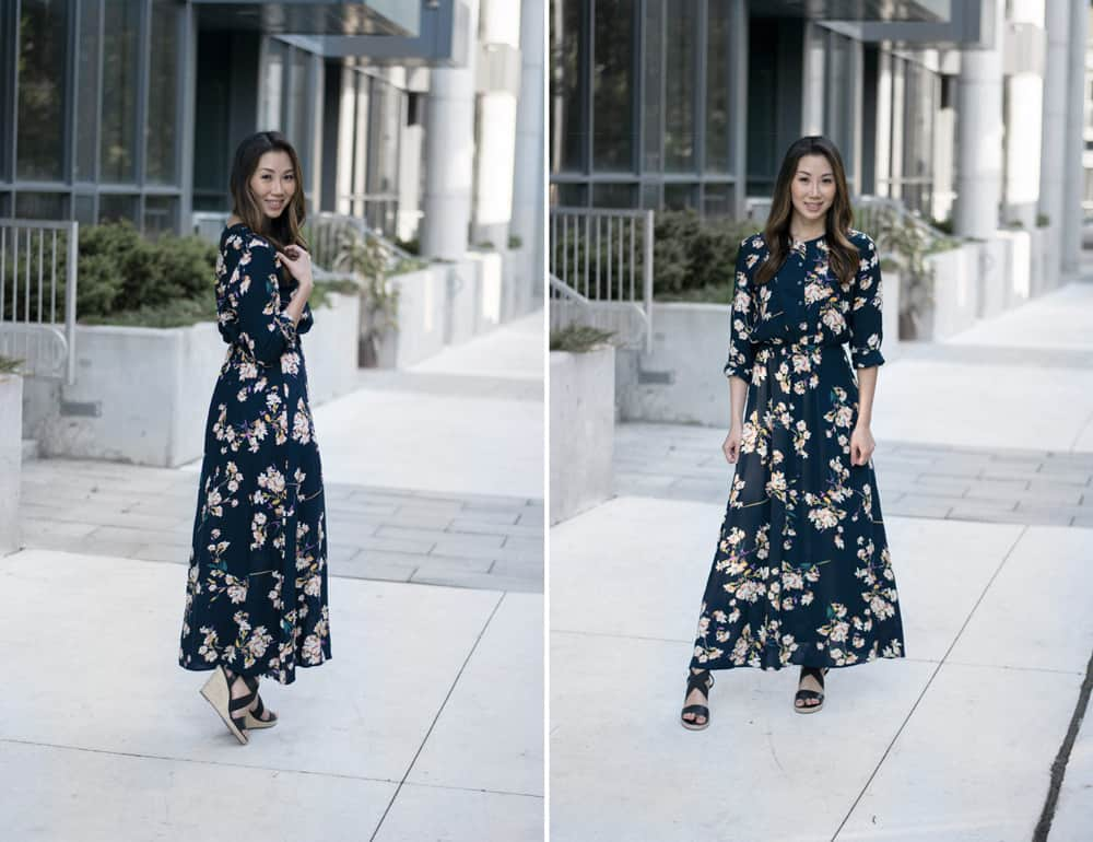 Floral Fever: summer floral maxi dress