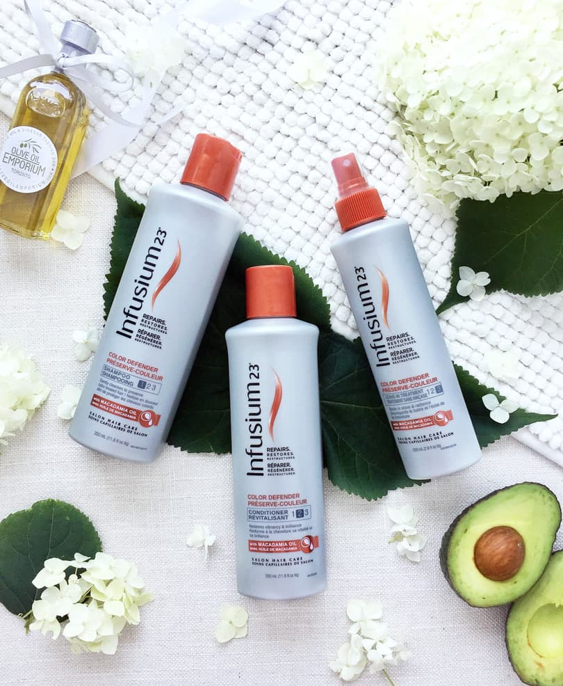 Beauty Blogger Review for Haircare by Infusium23: Color Defender with Macadamian Oil