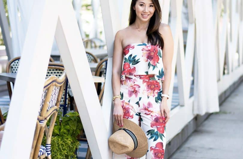 Summer Style: floral bandeau and culottes
