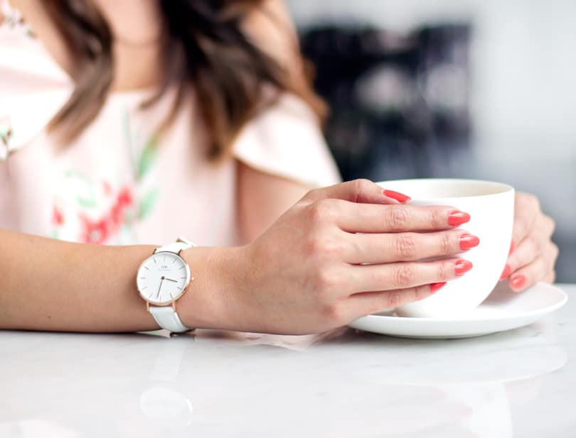 The petite classic bondi watch from Daniel Wellington. Get 20% off with code MISSY