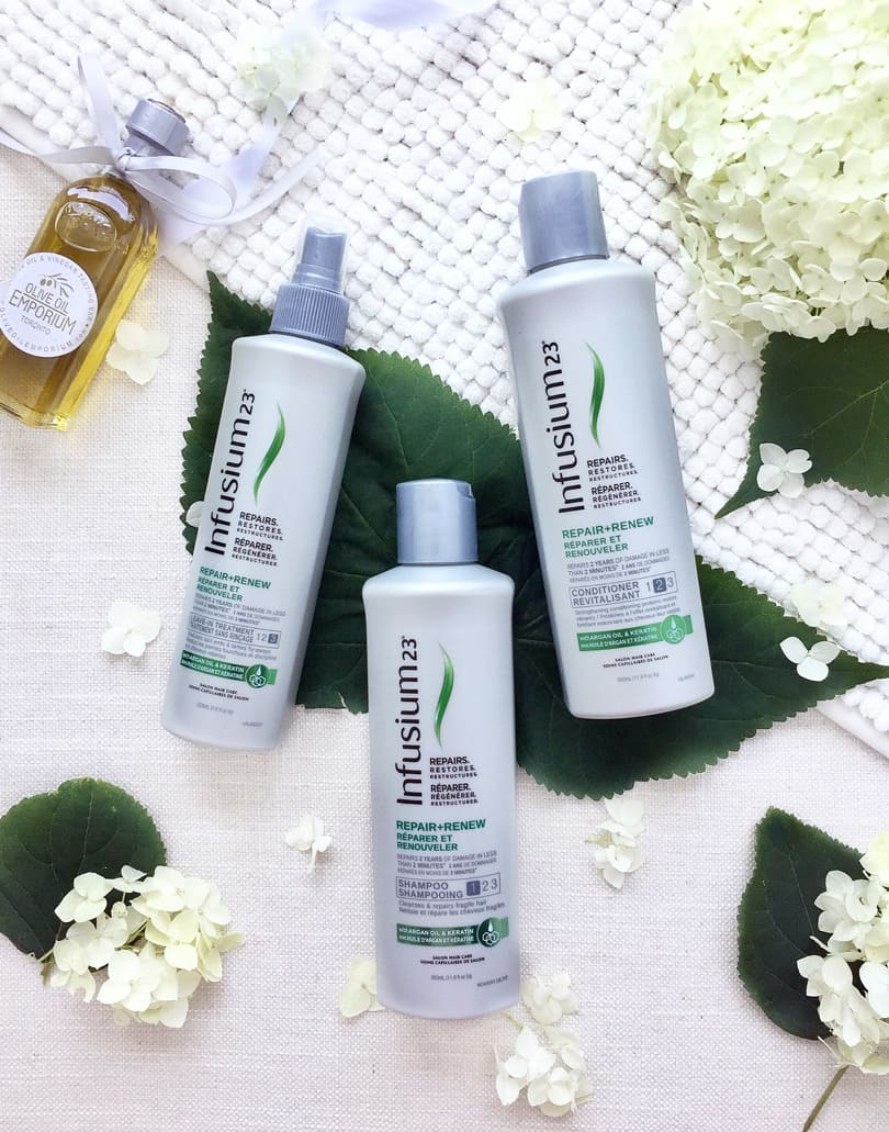 Beauty Review: Infusium23 Repair Renew with A rgan Oil and Keratin