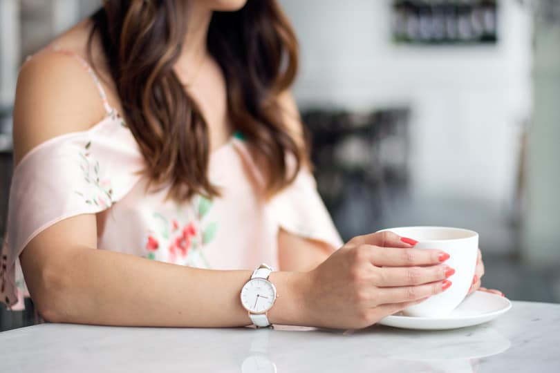 One of my favourite ways to find inspiration is to take a little time for myself out of the day to visit a local coffee shop. The petite classic bondi watch from Daniel Wellington. Get 20% off with code MISSY