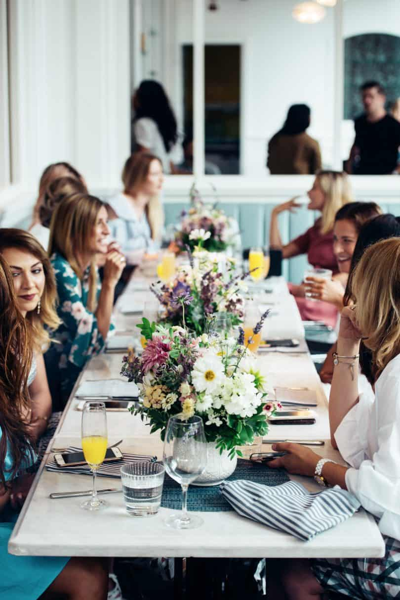 Beauty Blogger Event for Lise Watier Perfexion Collection at Colette Grand Cafe