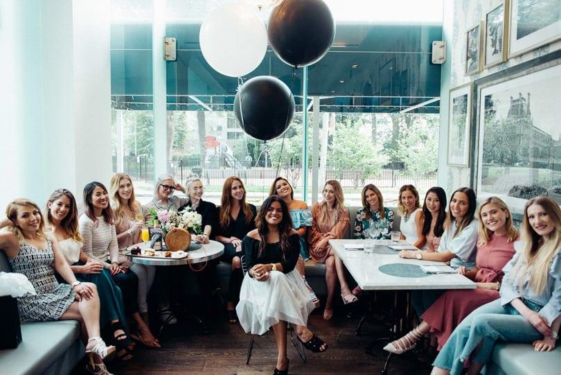 Toronto Beauty Bloggers @ Lise Watier Beauty Event - Host Rebecca Zulch