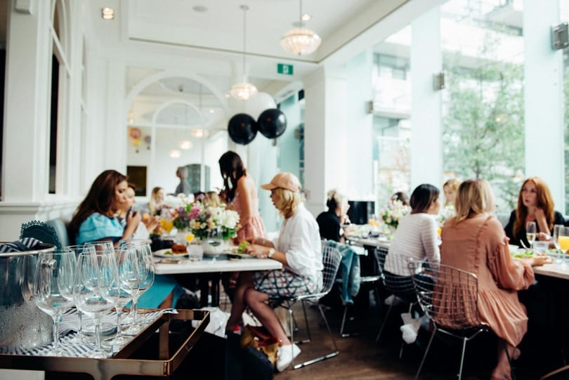 Toronto Beauty Bloggers at the Lise Watier Target Pefexion Event by Wishbone & Clover Media