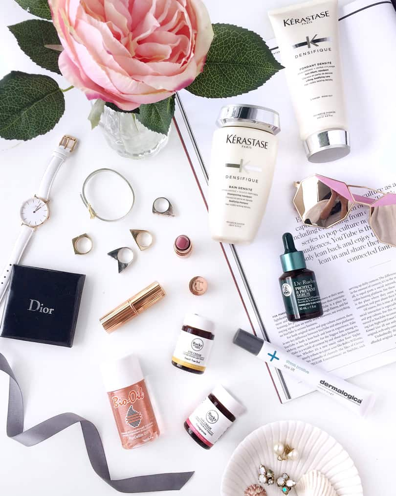 Best beauty products: favorite makeup, haircare and skincare that I'm currently trying out