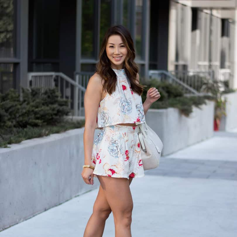 Toronto Style Blogger Eileen of yesmissy.com - Floral Fever - summer street style