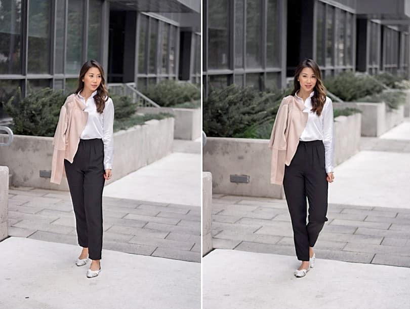 Minimalist streetstyle: fashion blogger yesmissy