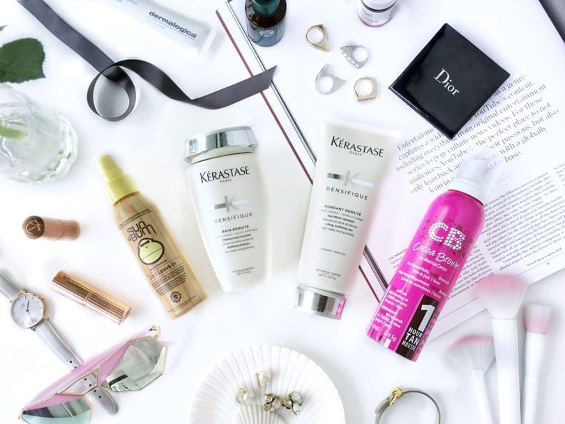 Favorite Hair Care products from Sunbum, Kerastase, and more