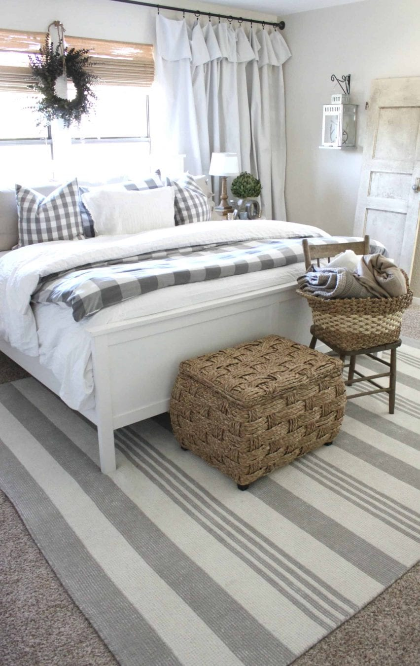 New bedding can give you bedroom a quick easy makeover