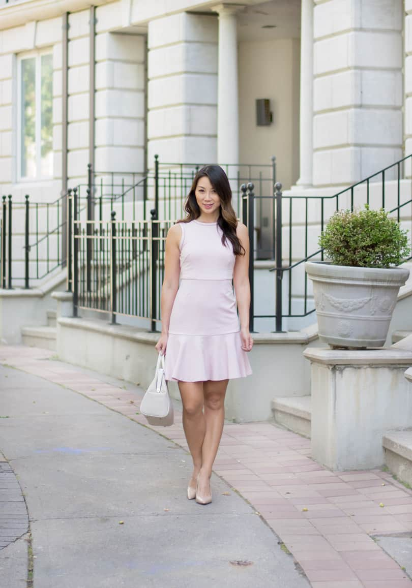 You won't believe where I got this cute pink dress from!