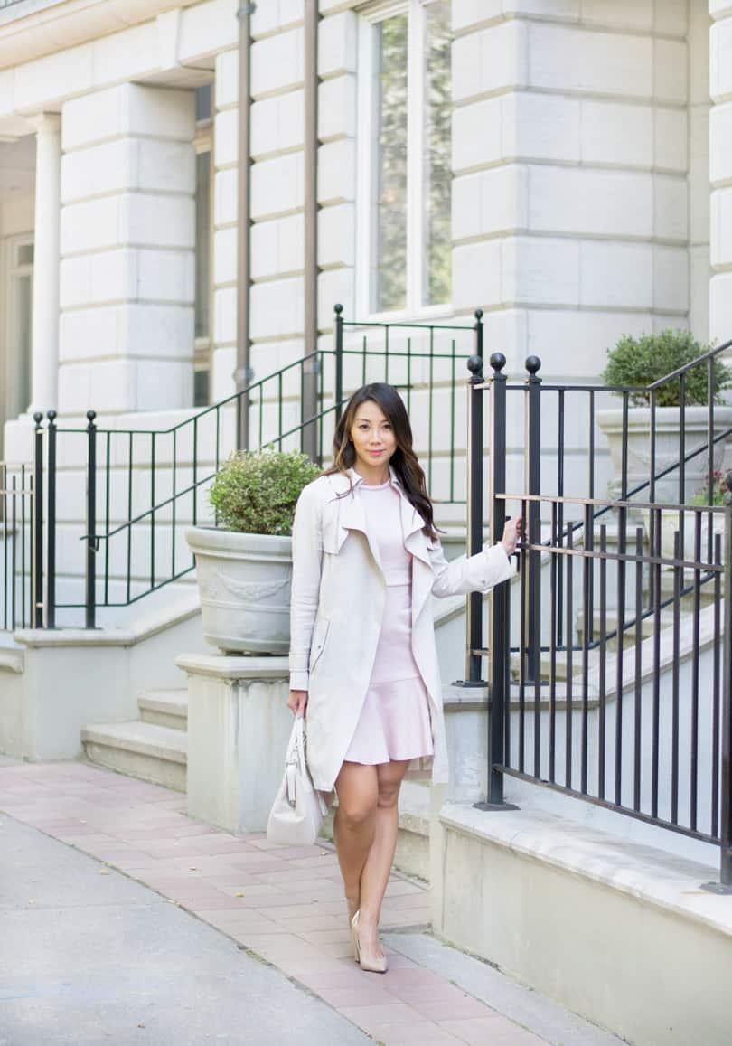 Fashion blogger style: YesMissy in Lark & Ro and Aritzia
