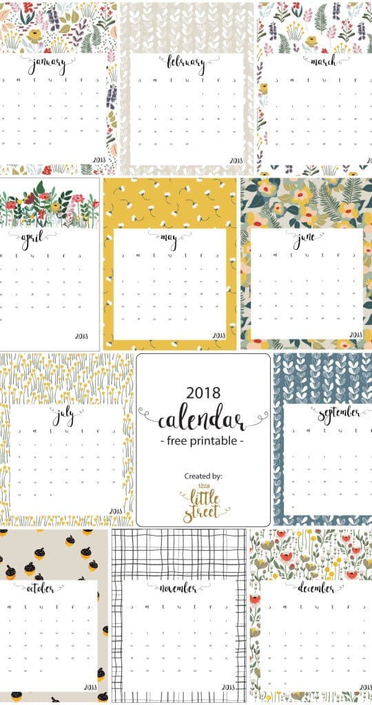 And adorable wallpaper design free printable calendar