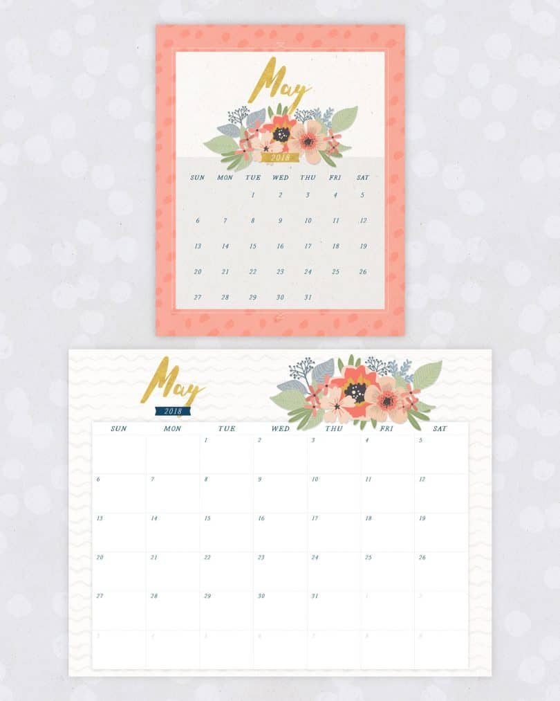 20 free printable calendars for 2018 yes missy a lifestyle blog