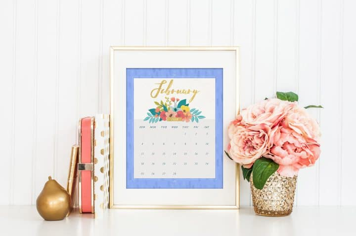 Free printable calendars. Easy to print, download, and share with others. Even add notes and customize it the way you want.