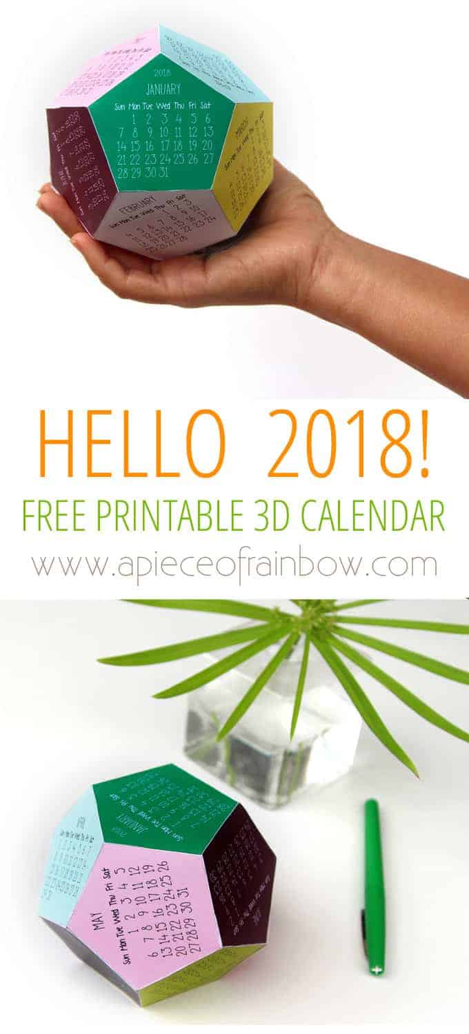 20 Free Printable Calendars for 2018 - Yes Missy | A Lifestyle Blog